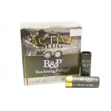 Патрон B&P 12к ACTIVE SLUG PRACTICAL SHOOTING 28гр