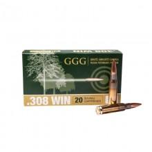 Патрон GGG HPBT (10.89g) 168гр. 308Win