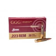 Патрон нарезной GGG 223Rem 69gr/4.47г HPBT (20шт)