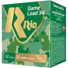 Патрон RIO к.12 Game Load 34 FW RIO50 (Б/К) (RIO100) 34гр №5