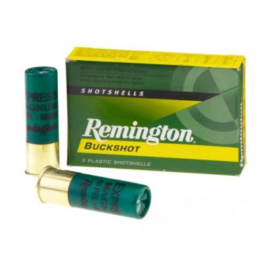 Патрон Remington EXSPRESS MAGNUM 12/70 картечь 1,  16 картечин