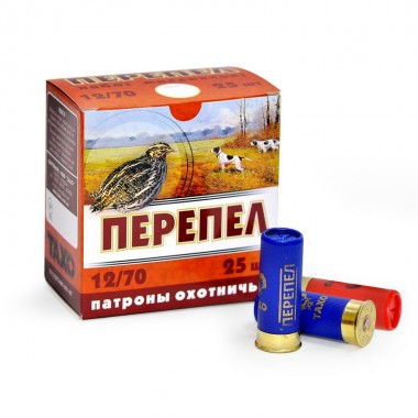 Патрон 12к Перепел 24гр,К №11