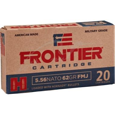 Патрон нарезной Hornady Frontier 223Rem (5,56/45) пуля SP 55 3,56 г.