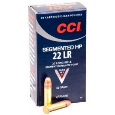 Патрон нарезной CCI Segmented 22Lr CPSHP 32gr/2.07г (50шт)