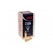 Патрон нарезной CCI 22WMR Maxi Mag TMJ 2,6гр (40GR)