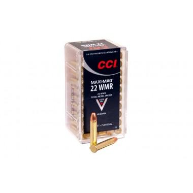 Патрон нарезной CCI Maxi-Mag JHP 22WMR 2,6 гр (40GR)