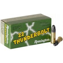 Патрон Remington Thunderbolt кал .22 LR пуля Round Nose 40 гр (2.6 г)