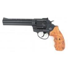 Револьвер под патрон Флобера Stalker 4мм 2,5 (коричневая рукоять)