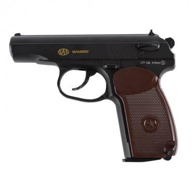 Пистолет пневматический SAS Makarov 4.5mm