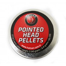 Пули Hatsan Pointed Head Pellets 0.55 (200шт/уп)