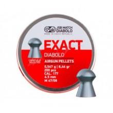 Пули пневматические JSB Diabolo Exact. кал. 4.5 мм, Вес - 0.54 г, 200 шт/уп