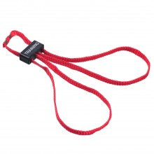 Наручники тренировочные текстильные НТ-01-Т (красные)