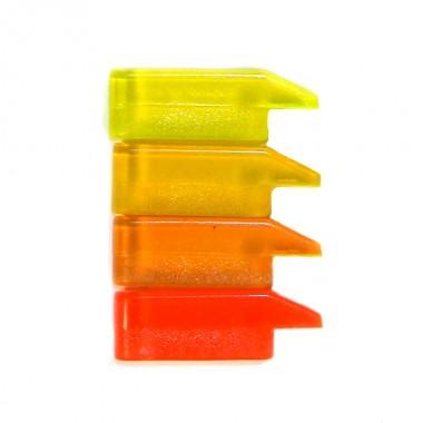 Мушка  MegaLine красная желтая (120) НАБОР