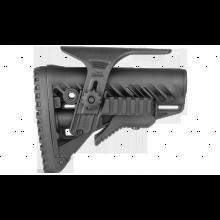 Приклад FAB Defense телескопический с амортизатором GLR16