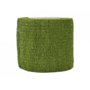 Лента маскировочная 5х450 см Green Grass Camo (клеится сама на себя)