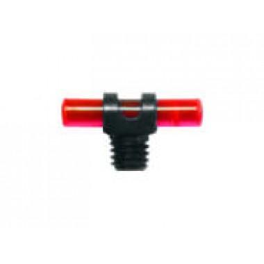 Мушка MegaLine красная 180/0027, резьба 2,6 мм