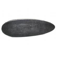 Затыльник резиновый 120*42*20 мм черный