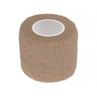 Маскировочная лента 5х450 см песок (клеится сама на себя)