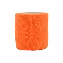 Лента маскировочная 5х450см оранжевая (самоклеющаяся)