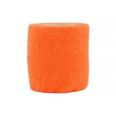 Маскировочная лента 5х450см оранжевая (клеится сама на себя)